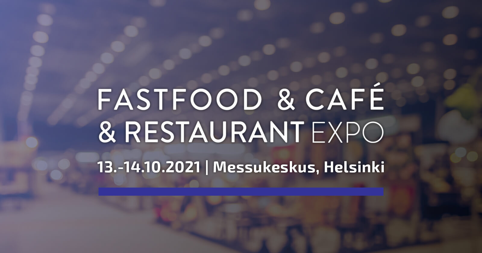 Staffmax Fastfood & Cafe & Restaurant Expossa 2021
